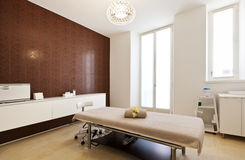 Interior of massage room Stock Image