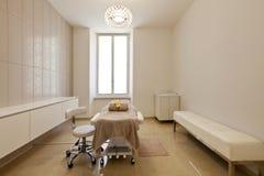 Interior of massage room Royalty Free Stock Image
