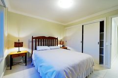 Interior of master bedroom Stock Photography