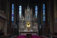 Interior of Matthias Church Royalty Free Stock Photo