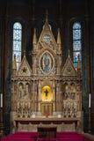 Interior of Matthias Church royalty free stock photos