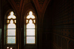 Interior of the Matthias Church, Budapest Stock Image