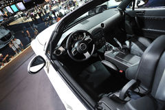 Mazda MX-5 car interior Royalty Free Stock Photos