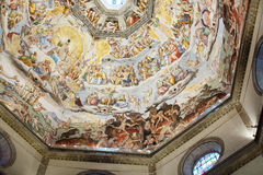 Interior of Medici Chapel Florence Stock Image