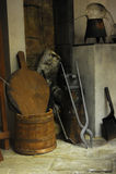 Interior medieval Foto de archivo