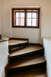 Interior of Medieval Castle of Bran Stock Photos