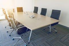 Interior of meeting room Stock Photo