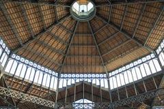 Interior of the Mercat del Born, a cultural centre in El Borne, Barcelona, Catalonia, Spain Stock Photography