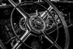 Interior of the Mercedes-Benz 770K W150, 1931. Stock Photo