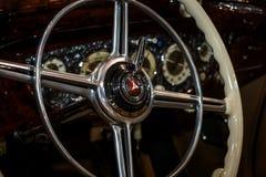 Interior of Mercedes-Benz 540K W24, 1939. Stock Photo
