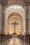 Interior of Merida Cathedral Royalty Free Stock Images