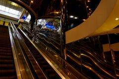 Interior metro modern reflection lights Royalty Free Stock Photo