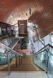 Interior metro station in Dubai Royalty Free Stock Photos