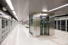 Interior of  metro station Gorg Stock Photography