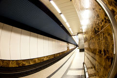 Interior of a metro station Stock Photography