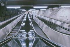 Interior of metro station in Stockholm, Sweden Stock Photo