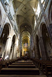 Interior of the Metropolitan Cathedral of Saints Vitus Royalty Free Stock Photography