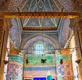 The interior of Mevlana Mausoleum Royalty Free Stock Image
