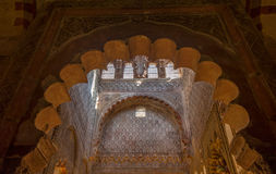 Interior of Mezquita-Catedral, Cordoba, Spain Stock Photo