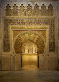 Interior of Mezquita-Catedral Royalty Free Stock Photos