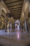 Interior of Mezquita-Catedral, UNESCO World Heritage Site, Cordo Royalty Free Stock Images