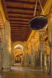 Interior Mezquita in Cordoba stock photography