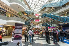 Interior of the MFG metropolitan mall in Jaipur, Rajasthan - Ind Stock Photo