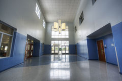 Interior of Middle School Stock Photography