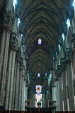 Interior of Milano Duomo Stock Photography