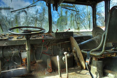 Interior of Military Vehicle Stock Images