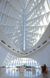 Interior of the Milwaukee Art Museum on Lake Michigan, Milwaukee, WI Royalty Free Stock Images