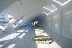 Interior of the Milwaukee Art Museum on Lake Michigan, Milwaukee, WI Stock Photos