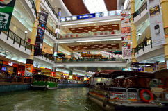 Interior of The Mines Shopping Mall, Kuala Lumpur, Malaysia.  Royalty Free Stock Image