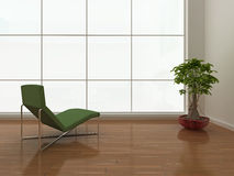 Interior minimalista Foto de Stock Royalty Free