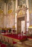 Interior of Mirabell Palace - european barock Palace, Salzburg, Austria stock photo