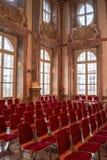 Interior of Mirabell Palace - european barock Palace, Salzburg, Austria royalty free stock photo