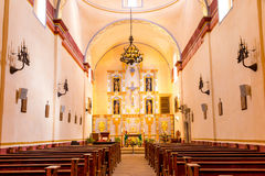 Interior of Mission San Jose Royalty Free Stock Photography