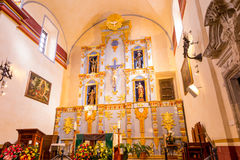 Interior of Mission San Jose Royalty Free Stock Images
