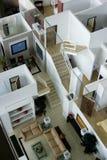 Interior modelo de la casa Fotos de archivo libres de regalías