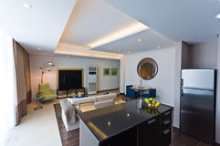 Interior of modern apartment Stock Photo