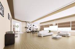 Interior of modern apartment Royalty Free Stock Photos