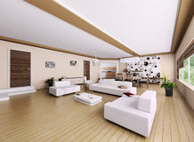 Interior of modern apartment Royalty Free Stock Image