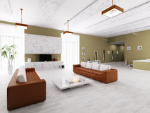 Interior of modern apartment Royalty Free Stock Photography
