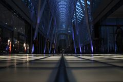 Interior of modern architecture Royalty Free Stock Photos