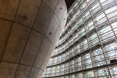 Interior of the modern architecture Royalty Free Stock Photography