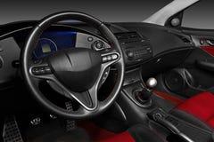 Interior of a modern automobile Stock Photos