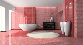 Interior of the modern bathroom Royalty Free Stock Images
