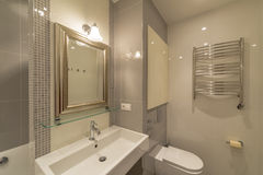 Interior of a modern bathroom Stock Image