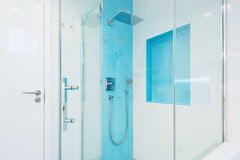 Interior of modern bathroom Royalty Free Stock Images