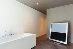 Interior, modern bathroom Stock Photos